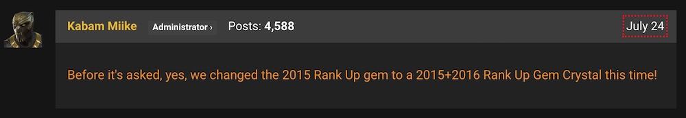 2015 16 rank up