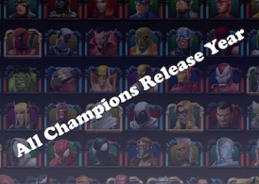 List of All Champions by Their Release Year